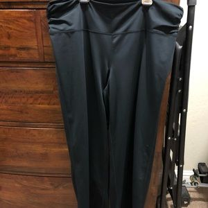 Black torrid workout pants
